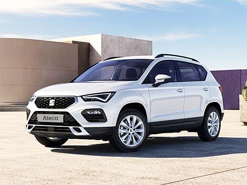 Обновленный SEAT Ateca 2021 года доступен с выгодой -40 000 грн.