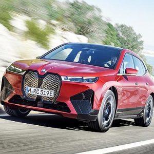 Объявлены украинские цены на новые полностью электрические BMW iX