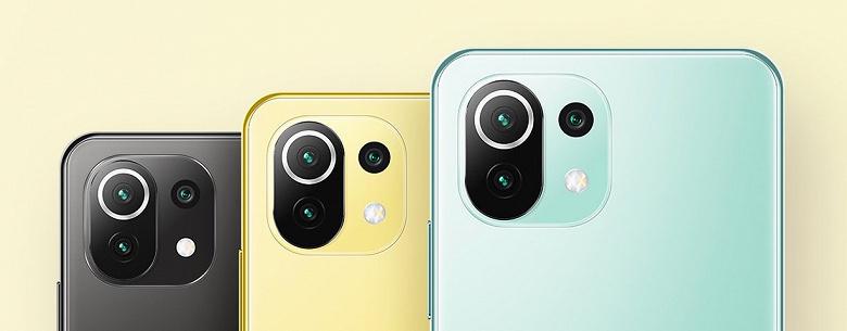 Xiaomi выпустила в России Xiaomi Mi 11 Lite и Mi 11 Lite 5G