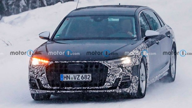 Шпионские фото Audi-Horch/Motor1