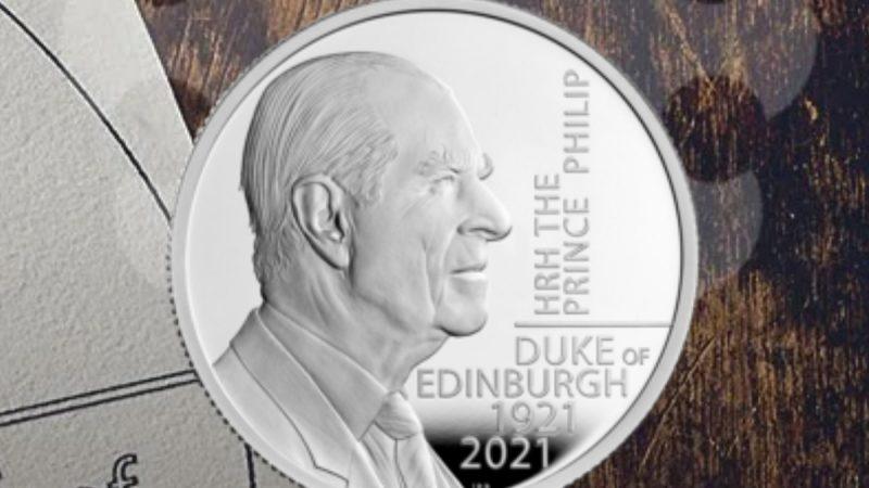 В Великобритании выпустили монету в память о супруге Елизаветы II