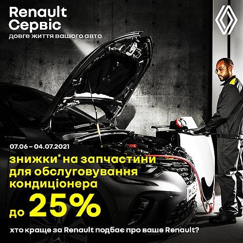 Владельцы Renault могут выгодно почистить и обслужить системы кондиционирования авто - Renault