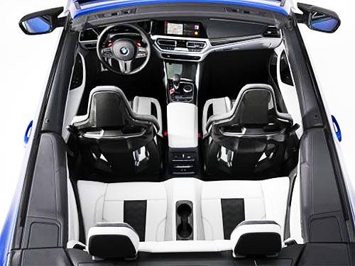 Каким будет новый кабриолет BMW M4