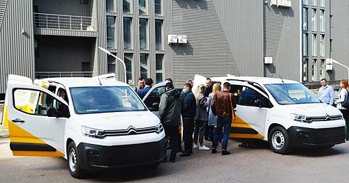 Какими будут передвижные отделения «УкрПочта» на базе CITROEN Berlingo - CITROEN