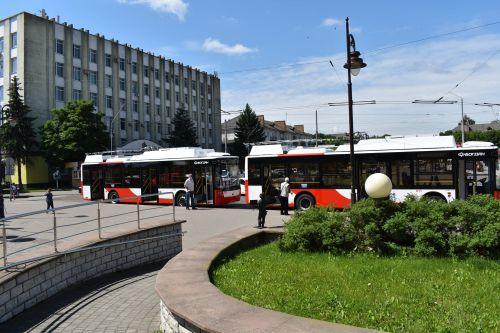 Луцк получил еще 2 троллейбусов Богдан Т70117 - Богдан