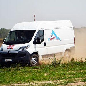 Проверяем возможности Dangel 4×4 на бездорожье: Peugeot Traveller 4×4, Citroen Jumper и Peugeot Partner 4×4