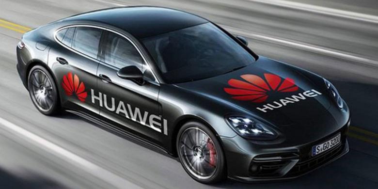 Huawei и Porsche готовят 7-местный внедорожник