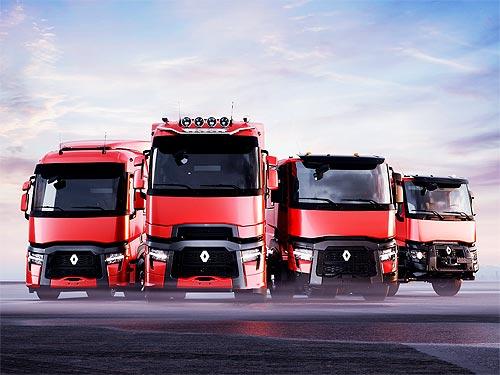 Renault Trucks представит обновление модельного ряда T, T High, C и K