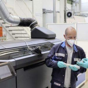Volkswagen будет использовать новую технологию 3D печати, которая снизит вес деталей в 2 раза