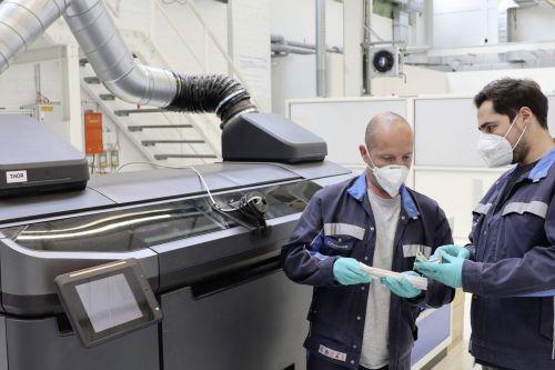 Volkswagen будет использовать новую технологию 3D печати, которая снизит вес деталей в 2 раза - Volkswagen