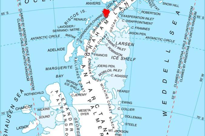 Акция #KyivNotKiev добралась до Антарктики: появилось новое название полуострова
