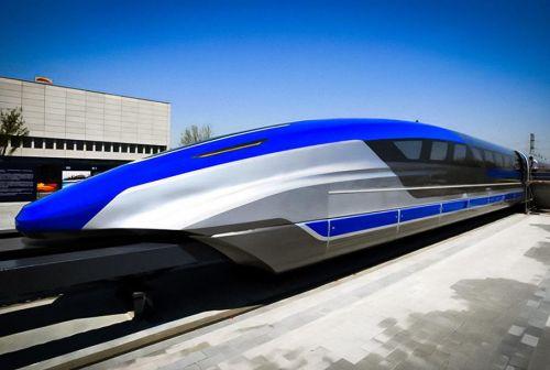 В Китае создали самый быстрый наземный транспорт, развивающий 600 км\ч