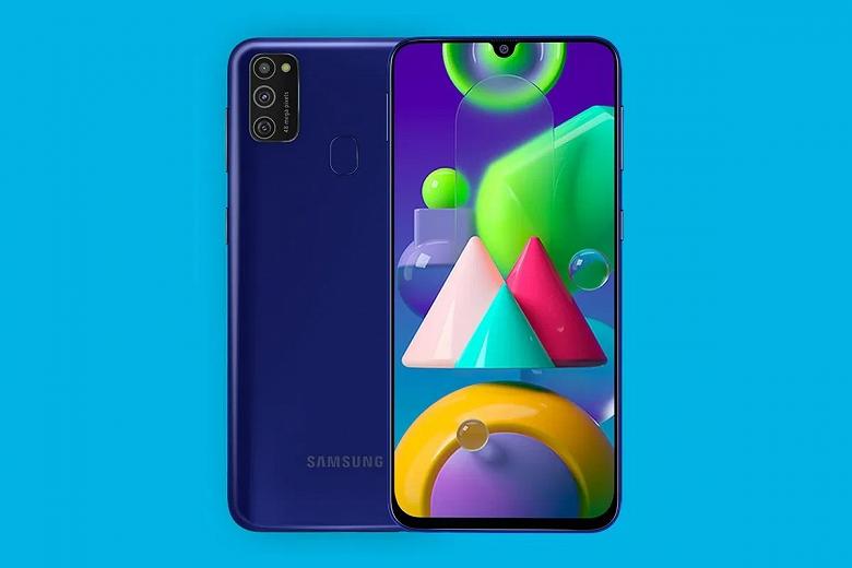 Монстр автономности Samsung Galaxy M21 (2021) является копией прошлогоднего смартфона
