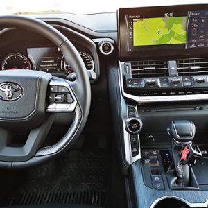 Первые подробности о Toyota Land Cruiser 300 в Украине