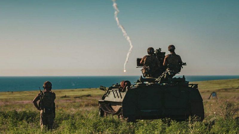 Под Мариуполем прошли учения по противовоздушной обороне: фото
