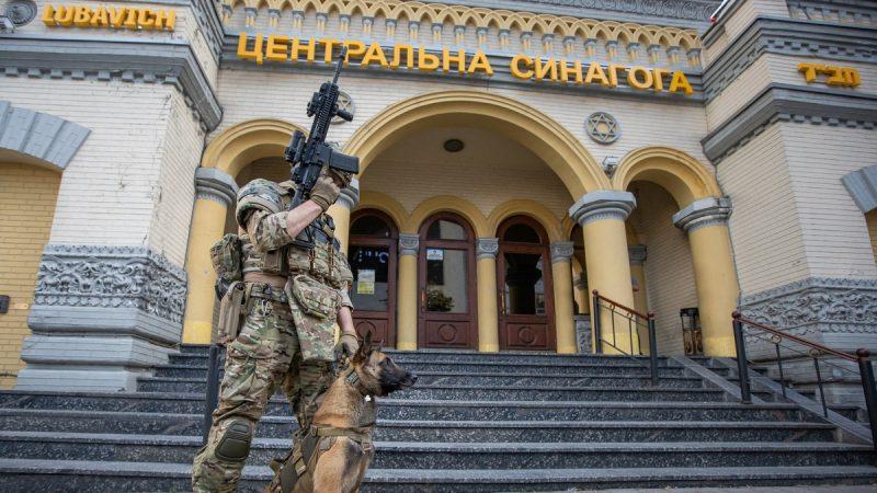 СБУ провела антитеррористические учения в киевской синагоге