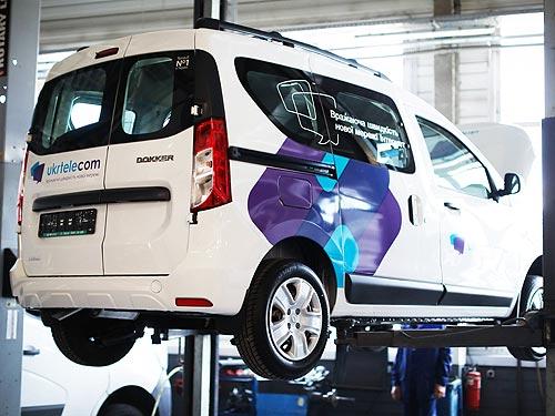 «Укртелеком» закупил крупную партию Renault Dokker