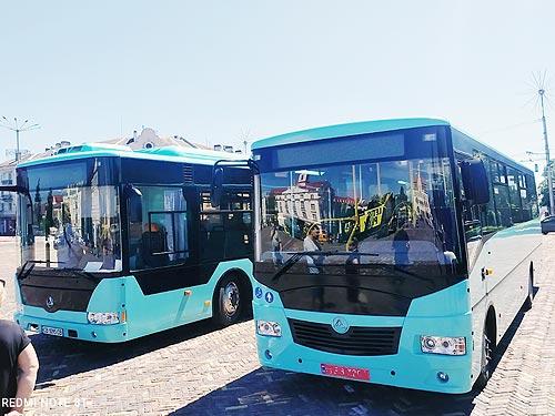 """Черниговские автобусы готовы покупать. Автопробег """"Эталон"""""""
