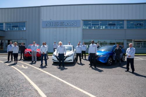 Nissan представил хаб за 1 млрд. фунтов стерлингов для электромобилей - Nissan