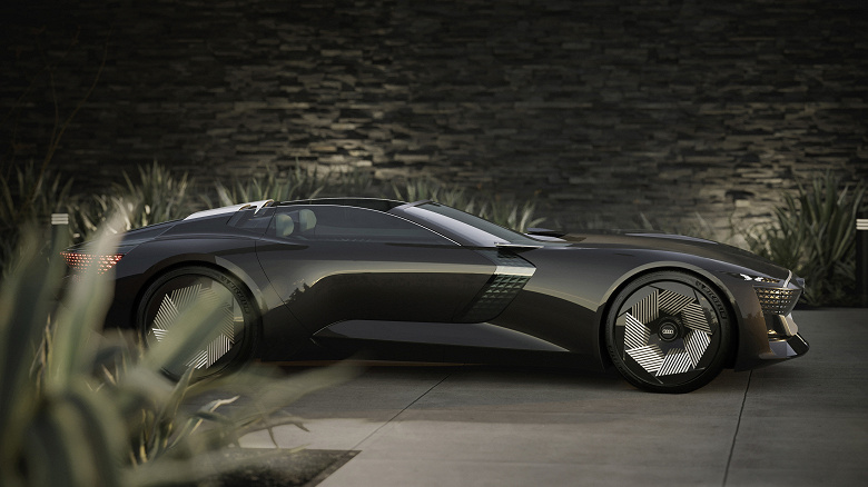 Audi представила электромобиль-трансформер будущего Skysphere
