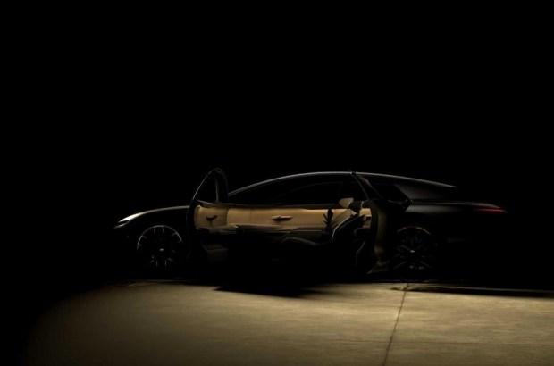 Ранний тизер концепт-кара Audi Grandsphere