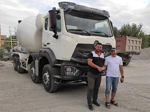 В Украине новый лидер в сегменте бетоносмесителей - бетон