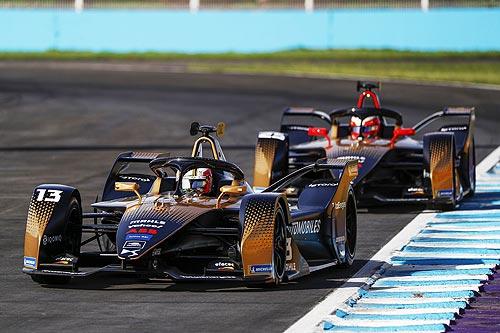 Команда DS TECHEETAH вошла в ТОП-3 Чемпионата Formula E - DS