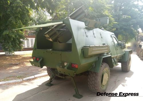 """На базе """"Дозор-Б"""" разработана 122-мм огнеметная система """"Спека"""""""