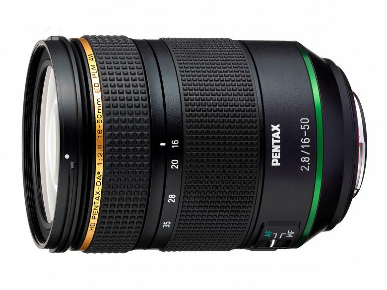 Названа дата начала продаж объектива HD Pentax-DA*16-50mmF2.8ED PLM AW