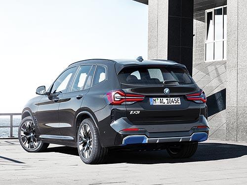 Объявлены украинские цены на новый электромобиль BMW iX3 - BMW