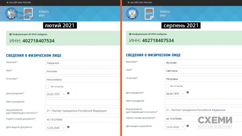 Подсанкционная гражданская жена депутата ОПЗЖ Козака сменила фамилию – журналист