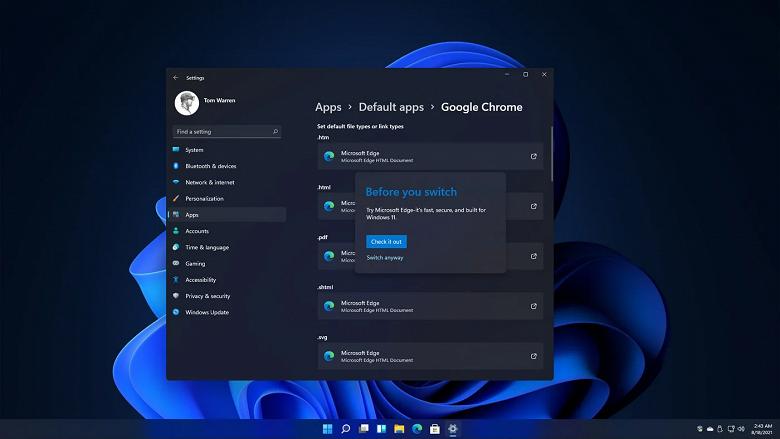 Решение Microsoft сильно усложнить процедуру замены браузера по умолчанию в Windows 11 вызвало негативную реакцию: комментарии Chrome и других компаний