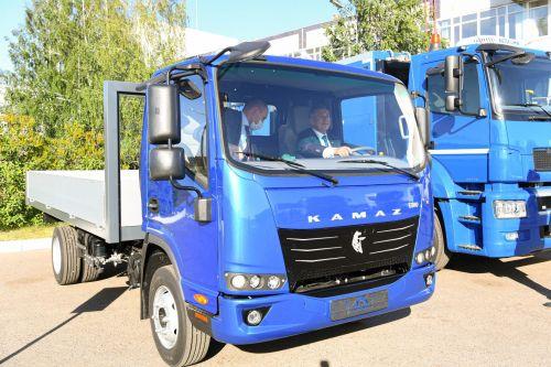 У КАМАЗа появятся легкие грузовики 3,5 т