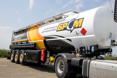 Украинский производитель Everlast представил сверхлегкий полуприцеп-бензовоз