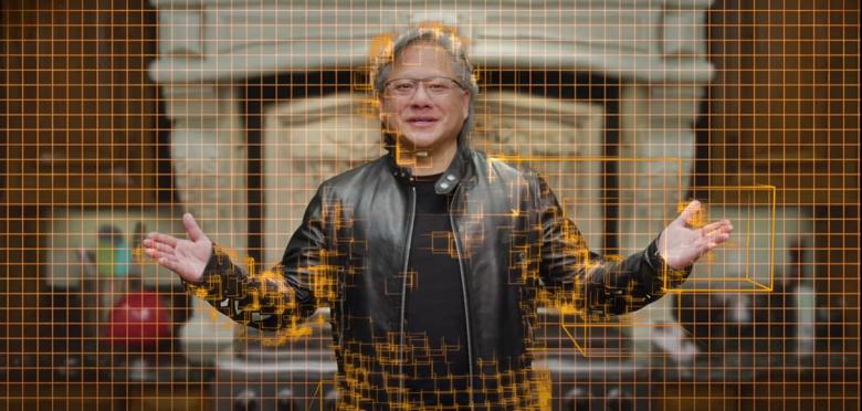 Часть апрельской презентации Nvidia вёл «фальшивый» Дженсен Хуанг. Компания создала цифровую копию своего руководителя