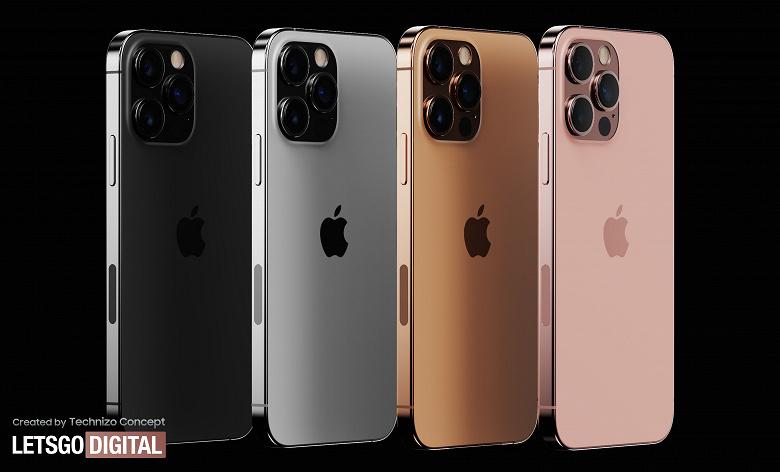 iPhone 13 Pro впервые показали в новых цветах Sunset Gold и Rose Gold
