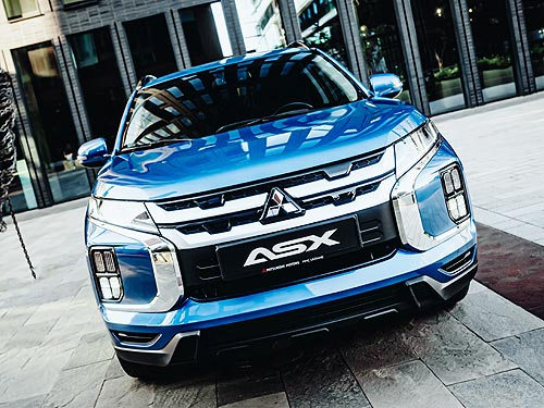 В сентябре выгода на Mitsubishi ASX достигает 70 000 грн.