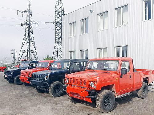 В Украине стартовали продажи пикапов BAW Warrior - BAW