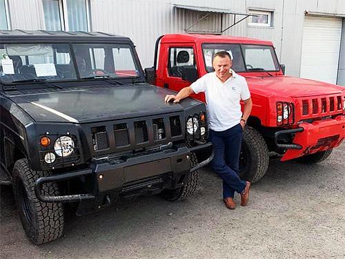 В Украине стартовали продажи пикапов BAW Warrior