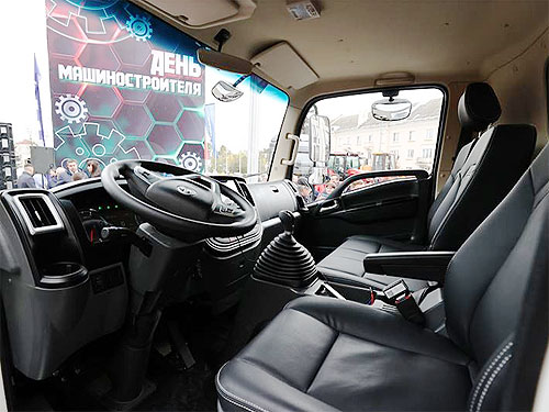 МАЗ заходит в новый сегмент и представил малотоннажный грузовик