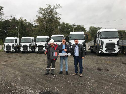 Метинвест закупил партию бортовых грузовиков FORD TRUCKS