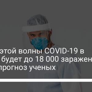 На пике этой волны COVID-19 в Украине будет до 18 000 заражений в сутки – прогноз ученых