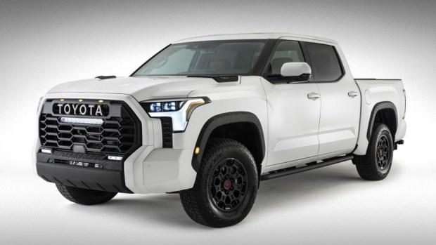Toyota Tundra следующего поколения в версии TRD Pro