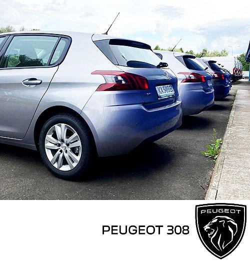 Фармацевтическая компания закупила крупную партию PEUGEOT 308 - PEUGEOT