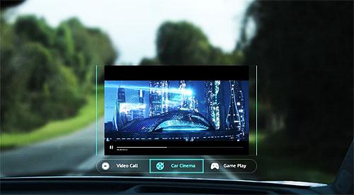 Huawei представила новую технологию интеллектуального дисплея для лобового стекла - Huawei