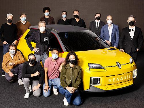 Renault 5 Prototype стал автомобилем года - Renault