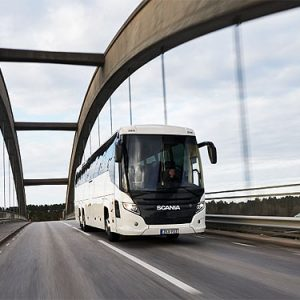 Scania представляет новый туристический автобус