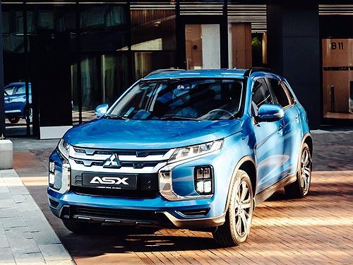 В октябре Mitsubishi ASX доступнее на 70 000 грн.