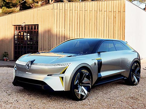 Концепт-кар Renault MORPHOZ получил награду за креативность