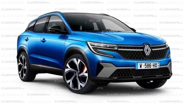 Рендеры нового Renault Kadjar